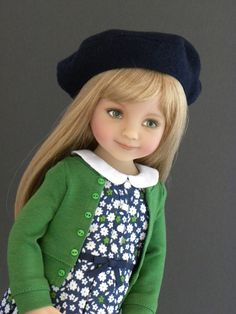 Dianna Effner Little Darlings doll in Matilda Pink outfit (by me!) | Flickr - Photo Sharing!