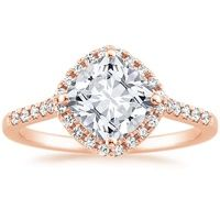 Cushion Halo Engagement Ring | Brilliant Earth