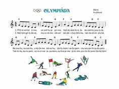 Kids Songs, Music Notes, Winter Sports, Sporty, Sheet Music, Kindergarten, Musica, Children Songs, Kinder Garden