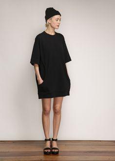 Acne Studios Velika Dress in Black