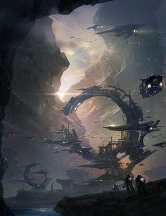 scifi-fantasy-horror: return to base by jcircle - park jong won - CGHUB Cyrail: Got an artwork or an artist you like? Suggest it!