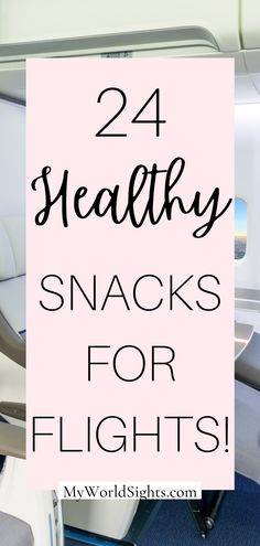 Going on a long flight? Consider packing some of these healthy airplane food ideas! This list also includes healthy airplane snacks perfect for travel!