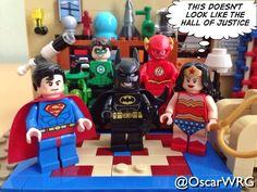 #JusticeLeague #HallOfJustice #Superman #Batman #WonderWoman #GreenLantern #Flash #BigBangTheory #LEGO #TBBT #LEGOideas #DCcomics @DCcomics @bigbangtheory_cbs @lego_group @lego @bricknetwork @brickcentral
