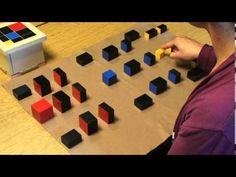 Three Kings First Layout (Montessori Elementary Math Demonstrations) - YouTube