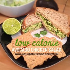 Low-Calorie Avocado Chicken Salad