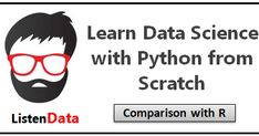 This tutorial helps you to learn Data Science with Python with examples. Python is an open source language and it is widely used as a high-...