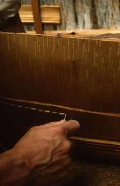 Woodland Heirlooms | Birch Bark Canoes by Richard M. Nash - Traditional Canoe Building Experience