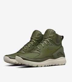 buy online 9dd9e d8992 NikeLab x Stone Island Koth Ultra Mid  Rough Green Cute Casual Shoes, New  Trainers