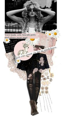 """If we were children I'd bake you mud pie..."" by indie-luver on Polyvore"