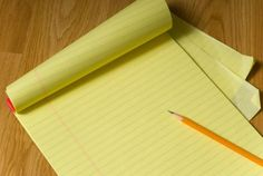 Why Are Legal Pads Yellow? | Mental Floss