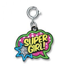 Charmit Super Girl Charm - $5.00