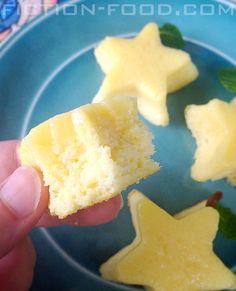 Kingdom Hearts   Paopu Fruit Star Cake Recipe by Fiction Food
