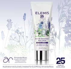 New Release: Elemis British Botanical Body Cream