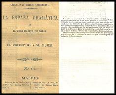 El preceptor y su mujer : comedia en dos actos / arreglada del francés por Don Luis Olona.  http://bvirtual.bibliotecas.csic.es/csic:csicalephbib000549032