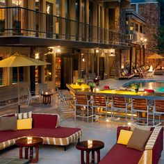 Best Hotel Bars: 39 Degrees, at the Sky Hotel, Aspen, Colorado