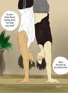 """Read Levi and Eren """"workout"""" ;D from the story Ereri Pics And Gifs by Cirenoz (starrymxn) with reads. Attack On Titan Meme, Attack On Titan Ships, Fanfiction, Eren E Levi, Snk Cosplay, Shadowhunters Malec, City Of Bones, Shadow Hunters, The Mortal Instruments"""