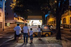 Il deserto di Piazza Bainzizza il 27 luglio 2015