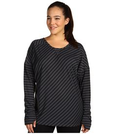 Moving Comfort Plus Size Urban Gym L/S Tee