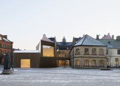Domkyrkoforum - Cathedral ForumThe site of the new cathedral forum is central Lund, in direct connection to the cathedral itself. On the site is situated the...