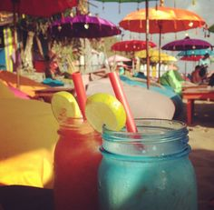 #bali #sunset #balibar #beach #beachbar #color #balibible #thebalibible #laplancha #laplanchabali