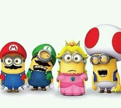 The Super Minions Bros...