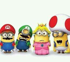 The Super Minions Bros...