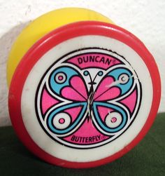 Duncan Butterfly Yo-Yo.  This is the one I had.