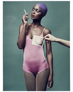 Aliane pour @bitememagazine Photography / Nicolas Guerin Styling / Julien Balmain Makeup / Vichika Yorn Hair / Robin Navarro-Harraga @ B Agency à Studio Guérin. #bitememagazine #nicolasguerin #bitemeee #model #shooting #editorial #mademoiselleagency