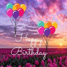 Happy Birthday Wishes Images, Happy Birthday Wishes Cards, Happy Birthdays, Birthday Wishes Quotes, Happy Wishes, Happy Birthday Ballons, Cute Happy Birthday, Happy Birthday Parties, Birthday Frames