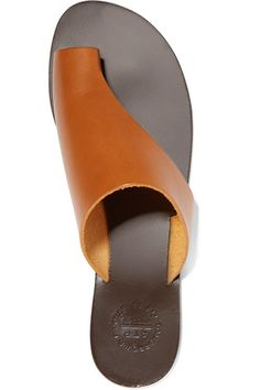 GABRIELLE'S AMAZING FANTASY CLOSET | APT Atelier Slight heel Tan leather Slip on Designer color: Dark Natural Made in Italy | You can see the rest of the Outfit and my Remarks on this board. - Gabrielle