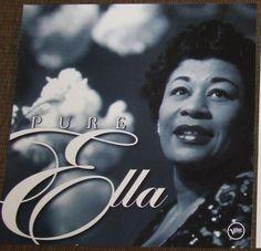 Ella Fitzgerald - Pure Ella: The Very Best of Ella Fitzgerald (CD) Mack The Knife, The Ink Spots, The Answer To Everything, Ella Fitzgerald, Vape Tricks, Miles Davis, Famous Stars, Lp Vinyl, Vinyl Art