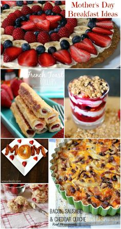 Mother's Day Breakfast Ideas (Collection) - Moms & Munchkins