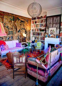 =apartment of Belgian architect and designer, Gert Voorjans
