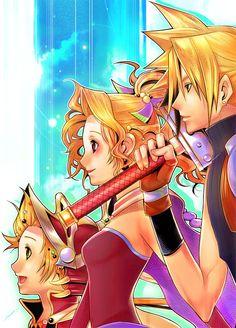 Dissidia Final Fantasy Cool art