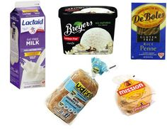 Diet help! Gluten and Lactose Free Foods