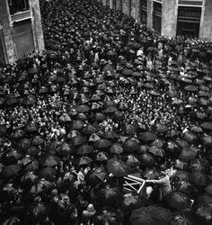 George Rodger - Nápoles, Italia 1944