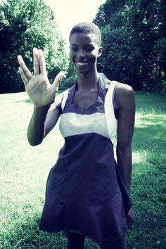 star trek apron from jordandene $50 #etsy #startrek #trekkie