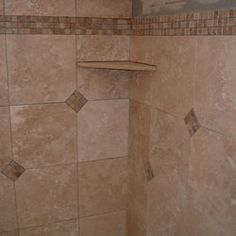image result for bathroom shower shelves