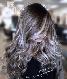 White And Ash Blonde Highlights For Chocolate Hair