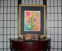 Art Print-Floral Original Watercolor Painting by Myhallwaygallery
