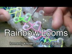 Rainbow Looms - Create an Elastic Wrist Band