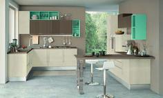 Kitchen Cabinet Design, Interior Design Kitchen, Kitchen Storage, Kitchen Wall Colors, Kitchen Decor, Kitchen Walls, Scavolini Kitchens, Separating Rooms, My Ideal Home
