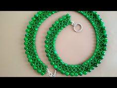 YouTube Tatting Jewelry, Bead Jewellery, Macrame Jewelry, Diy Jewelry Videos, Jewelry Making Tutorials, Collar Macrame, Beaded Collar, Crochet Earrings, Beaded Necklace