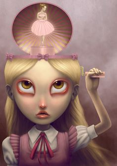 Paolo Pedroni stunning weird pop surrealism digital artwork You might be in the proper place about Beaute Artwork face Right here we give you essentially. Art Bizarre, Creepy Art, Weird Art, Art And Illustration, Illustrations Pop, Portrait Illustration, Fashion Illustrations, Fantasy Kunst, Fantasy Art