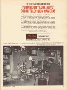 Vintage Norelco broadcast camera using Plumbicon tubes.