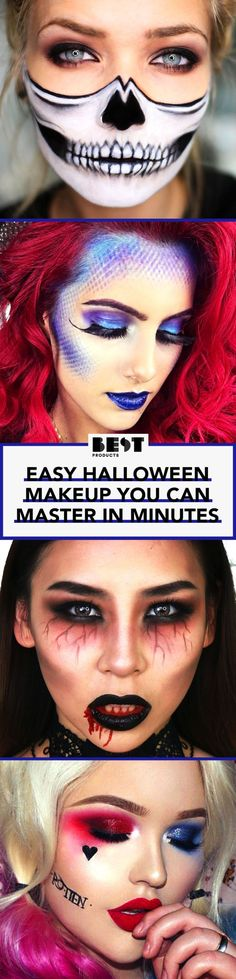 Ah, Halloween. The most creative holiday of the year offers some of the industry's top makeup artists the chance to show off their masterful cosmetic ways. These days, your Halloween costume is only as good as your makeup, so these YouTube beauty vloggers are heaven-sent. In honor of Halloween, we're turning to these makeup mavens for dress-up and make-up inspiration.