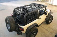 Rugged Ridge Cargo Net for Jeep Wrangler JK 2 Door Wrangler Store, 2012 Jeep Wrangler, Jeep Wrangler Unlimited, 2 Door Jeep, Jeep Wrangler Interior, Volkswagen, Rugged Ridge, Cargo Net, Jeep Accessories