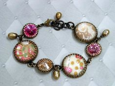 Laurie's new bracelet, from the Nancy Collection