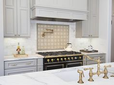 Vintage Victorian Home Gets a Classic Kitchen - Dura Supreme Cabinetry designed by Gilmans Kitchens and Baths and Noel Han, Interior Designer