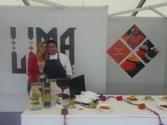 Silvia & Head Chef Robert Ortiz @Taste of London